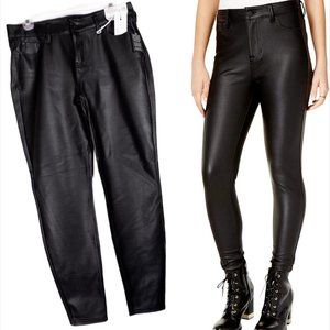 Celebrity Pink Mid-Rise Skinny Pleather Pants NWT